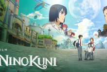 صورة الأعلان عن موعد عرض فيلم Ni no Kuni على شبكة Netflix .