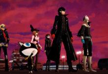 صورة العرض الدعائي الثاني للعبة Persona 5 Scramble: The Phantom Strikers .