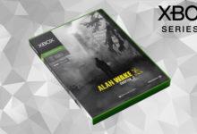 صورة تصميم تخيلي لشكل علبة ألعاب جهاز Xbox Series X .