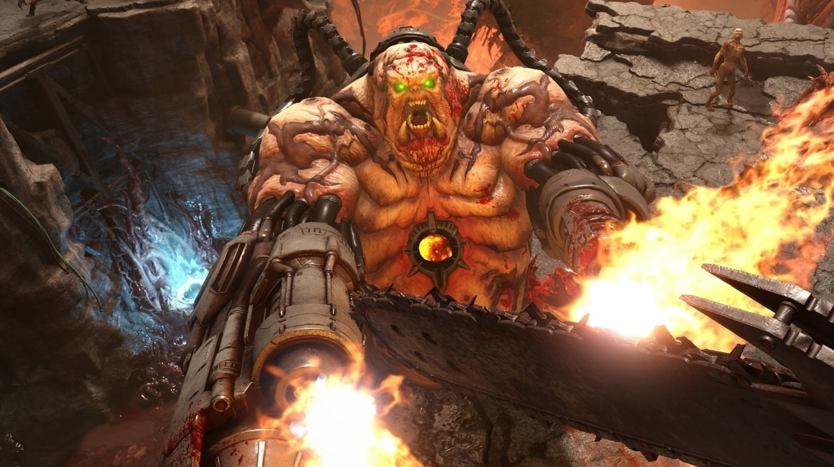 doom eternal shows off its single player campaign in new gameplay trailer 1579034476058