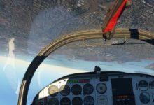 صورة عرض جديد للعبة Flight Simulator يستعرض التقنيات المستخدمة لعرض المناطق المثلجة