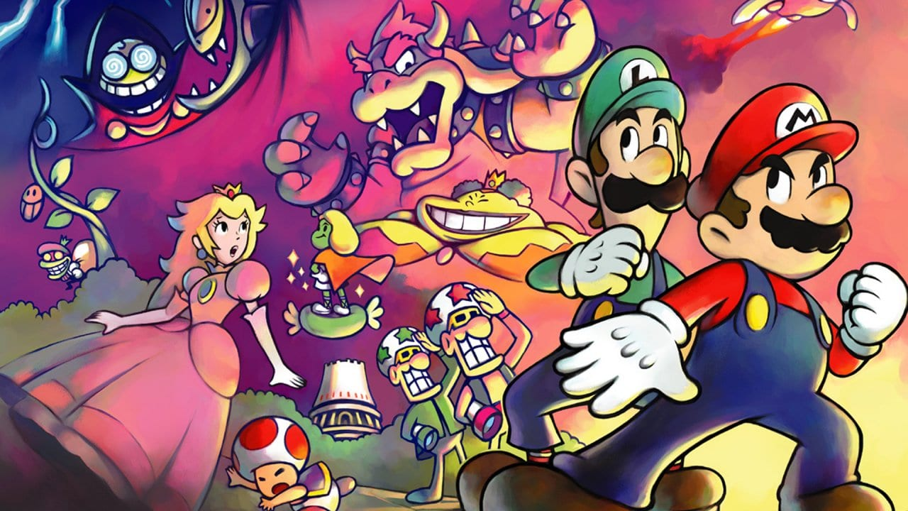 mario and luigi superstar saga image