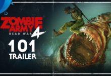 صورة عرض دعائي جديد للعبة Zombie Army 4: Dead War .