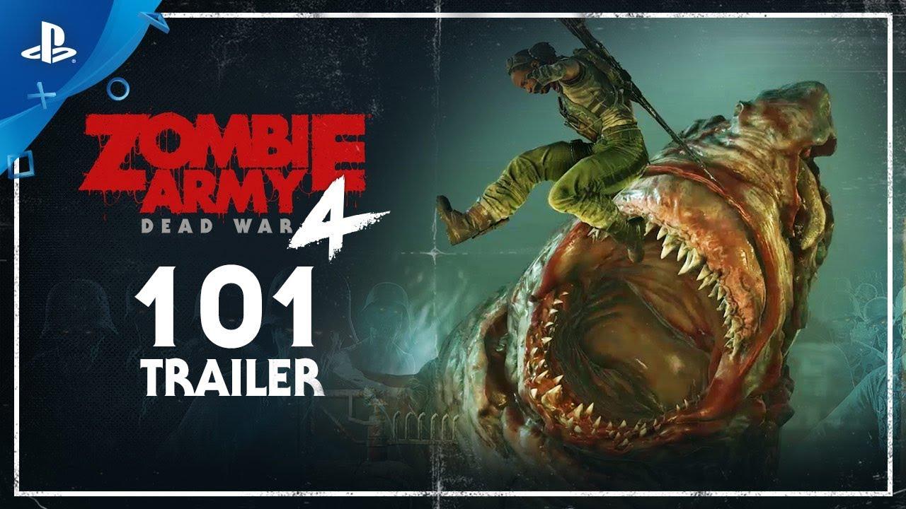 Photo of عرض دعائي جديد للعبة Zombie Army 4: Dead War .