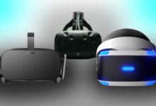 oculus rift htc vive playstation vr