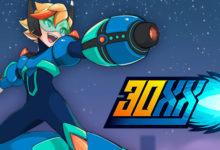 صورة الإعلان عن لعبة 30XX الجزء الثاني من 20XX