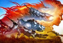 صورة الإحتفال بمرور ثلاثة سنوات على إصدار لعبة Horizon: Zero Dawn .