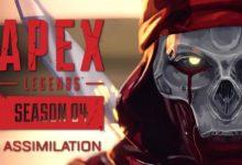 صورة استعراض دعائي لكافة محتويات الموسم الرابع للعبة Apex Legends