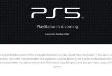 Photo of شركة Sony تطلق الموقع الرسمي لجهاز PS5 .