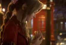 صورة عرض الإفتتاحية والبداية السينمائي للعبة Final Fantasy VII Remake .