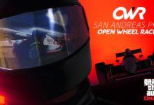 صورة لعبة GTA Online تحصل على طور Open Wheel Races الخاص بسباق السيارات .