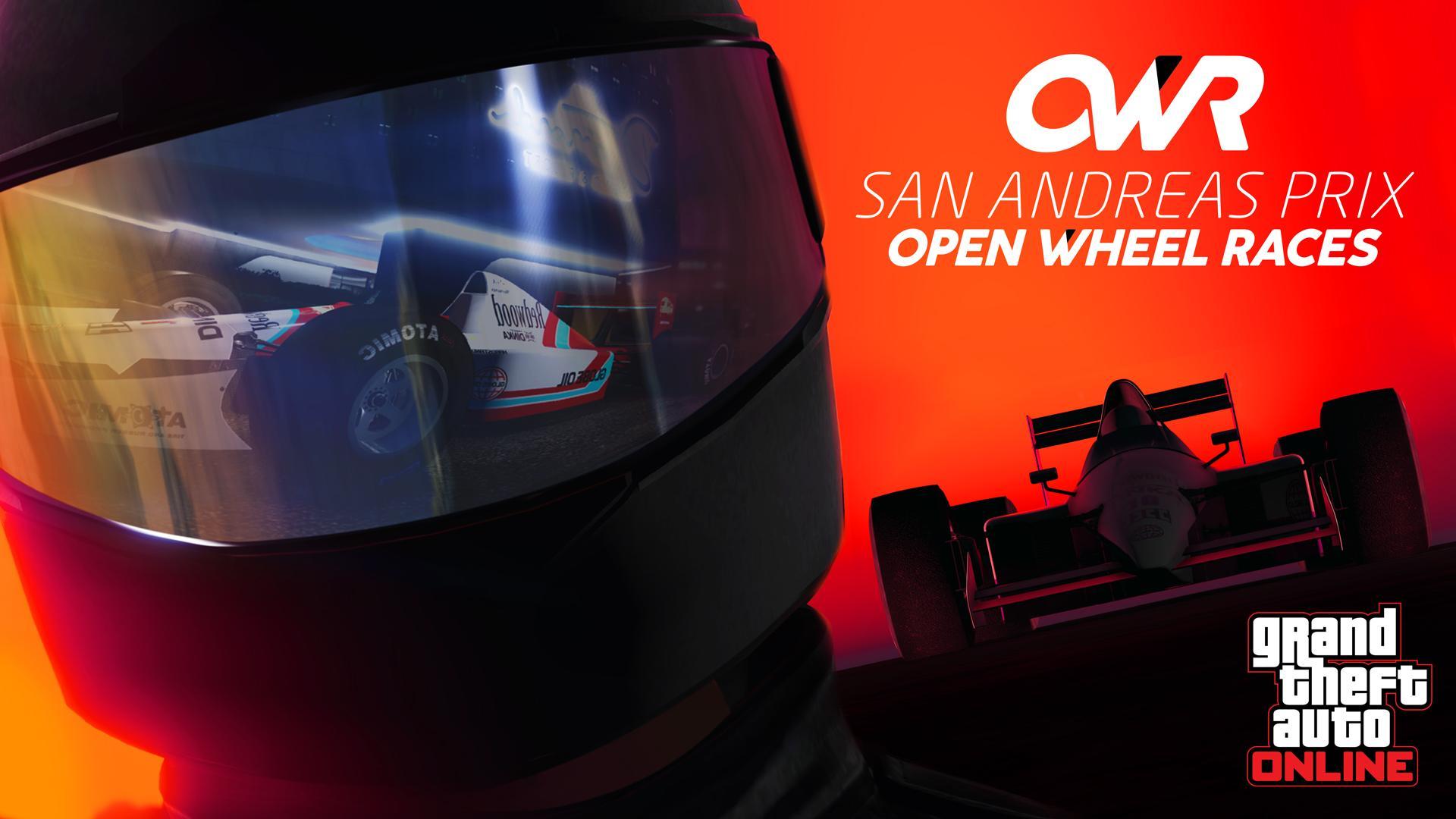 Photo of لعبة GTA Online تحصل على طور Open Wheel Races الخاص بسباق السيارات .