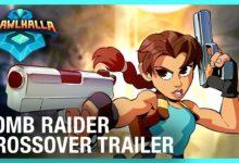 صورة شخصيات Lara Croft تصل للعبة Brawlhalla المجانية
