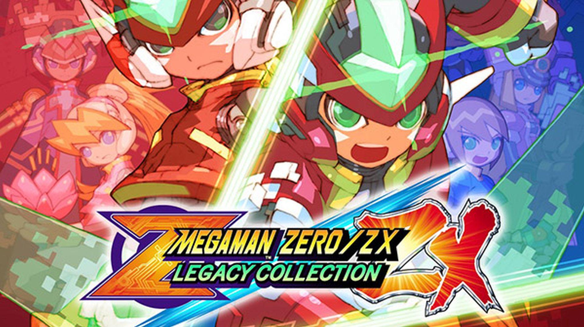 Megaman Zero ZX Legacy Collection