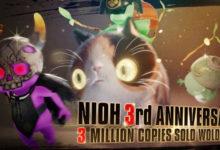 صورة مبيعات لعبة Nioh تكسر حاجز الـ 3 مليون نسخة مباعة على مستوى العالم .