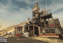 صورة مقارنة خريطة Rust من سلسلة Call of Duty في اصدارها الجديد