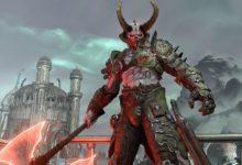 صورة الكشف عن حجم لعبة Doom Eternal