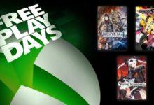 صورة أحدث الألعاب المتوفرة للتحميل من خلال برنامج Free Play Days على متجر Xbox الرقمي