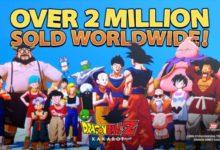 صورة مبيعات لعبة Dragon Ball Z: Kakarot تتجاوز حاجز 2 مليون نسخة مباعة عالمياً .