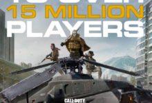 صورة لعبة Call of Duty Warzone تحقق رقم قياسي جديد بوصولها لـ 15 مليون لاعب .