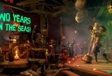 صورة لعبة Sea of Thieves تحتفل بمرور عامين على إصدارها بمزيد من المحتويات المجانية والتحديات .