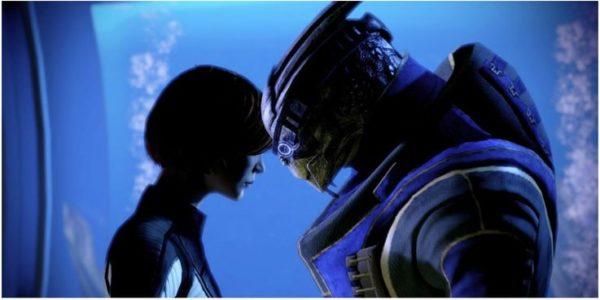 Mass Effect Shepard and Garrus