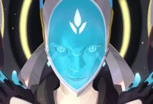 صورة الإعلان عن شخصية Echo كأحدث شخصيات لعبة Overwatch .