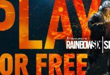 صورة لعبة Rainbow Six Siege متوفرة للتحميل واللعب بشكل مجاني حتى تاريخ 8 مارس على منصة Xbox One .