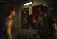 صورة لنتعرف على الفرق بين لعبة Resident Evil 3 remake و الجزء الثالث الأصلي الذي صدر عام 1999 .