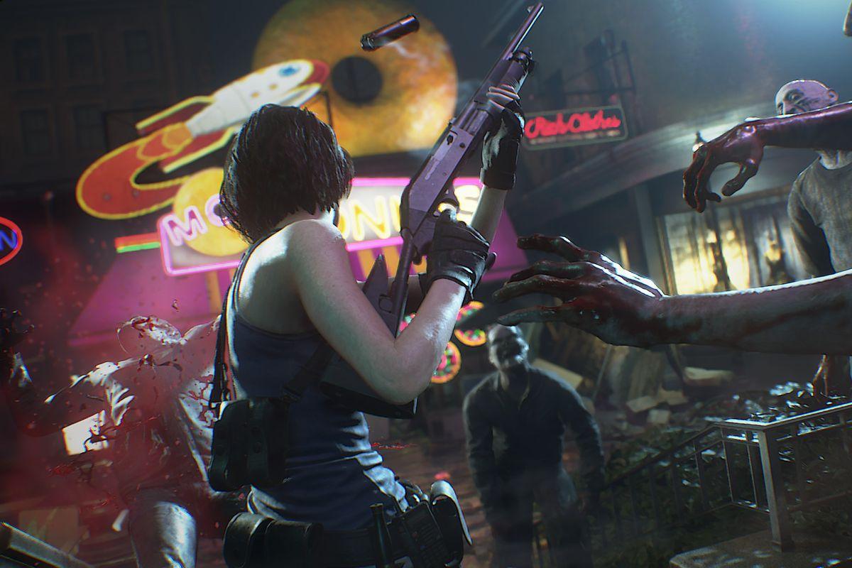 RE3 Jill vs Zombies.0