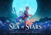 صورة الإعلان بشكل رسمي عن لعبة Sea of Stars من فريق Sabotage Studio المطور الشهير خلف لعبة The Messenger .