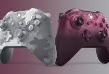 صورة يد تحكم جهاز Xbox One تحصل على عدد من الألوان الجديدة .