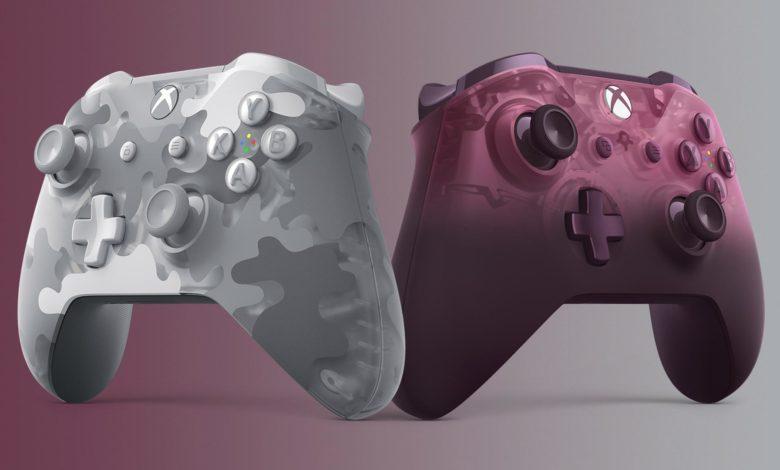Xbox Controllers Magenta ArcticCamo Announce 1920x1080