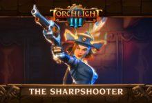 صورة الكشف عن شخصية Sharpshooter من لعبة Torchlight III .