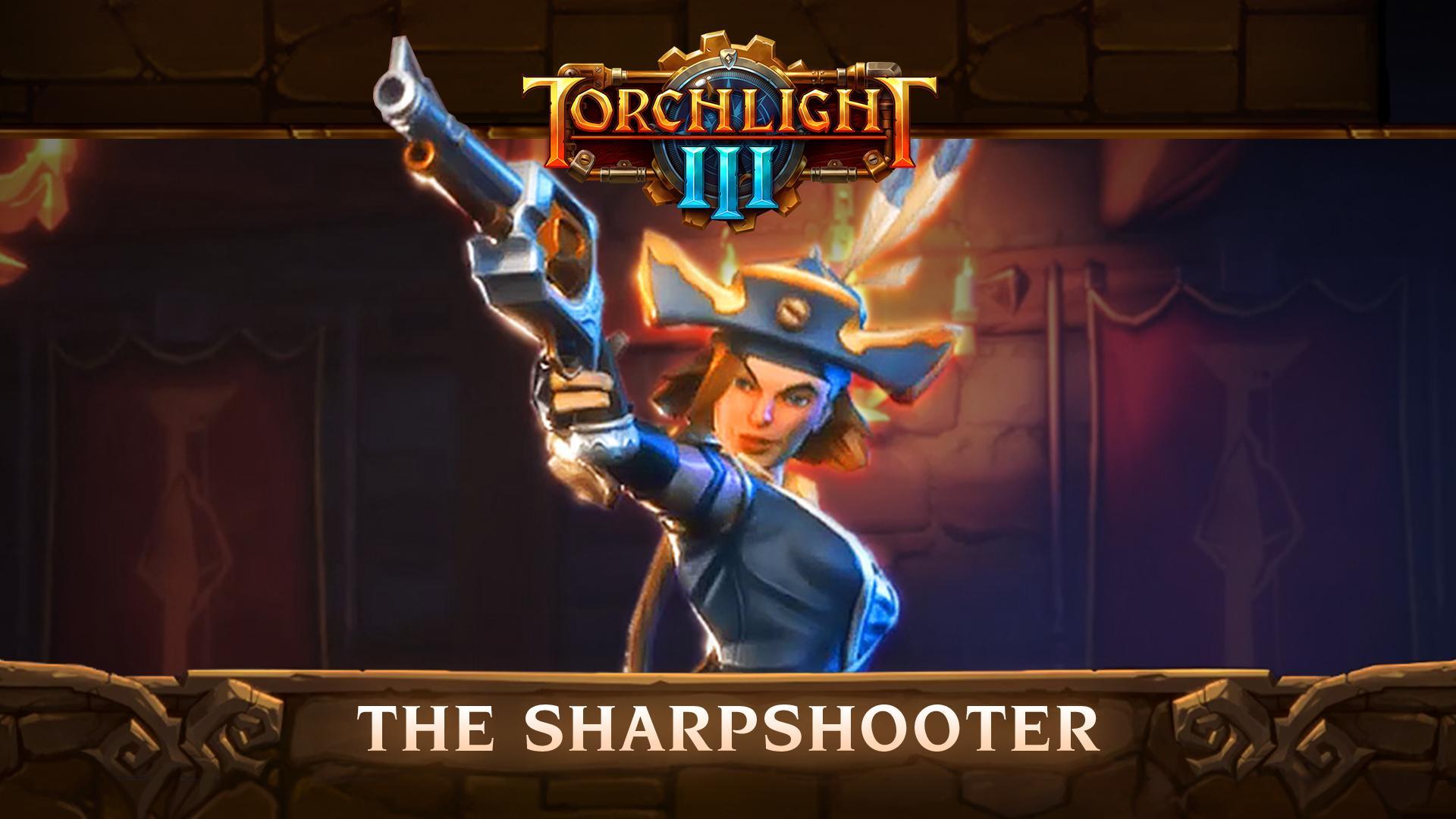 Photo of الكشف عن شخصية Sharpshooter من لعبة Torchlight III .