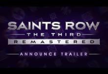 صورة الإعلان بشكل رسمي عن لعبة Saints Row: The Third Remastered .