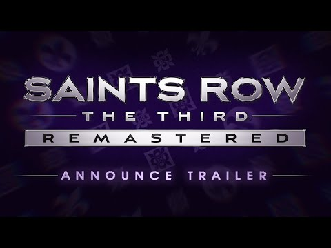Saints Row: The Third Remastered