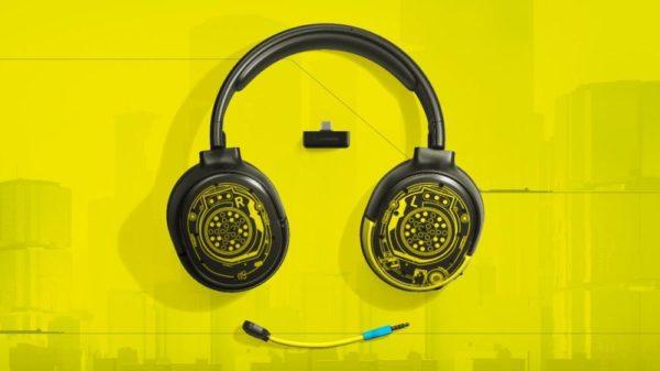 Cyberpunk 2077 Steel Series Netrunner headset