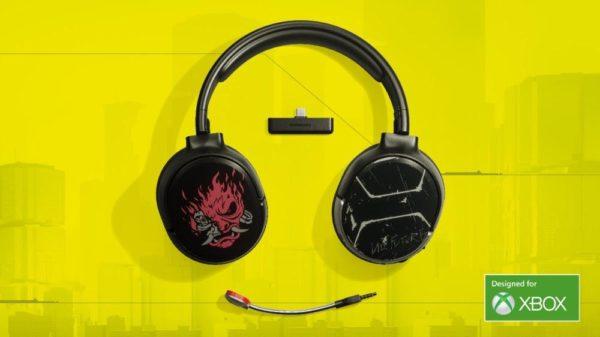 Cyberpunk 2077 Steel Series headset