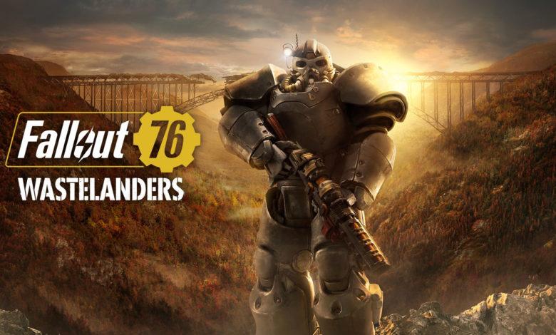 Fallout76 Wastelanders Header