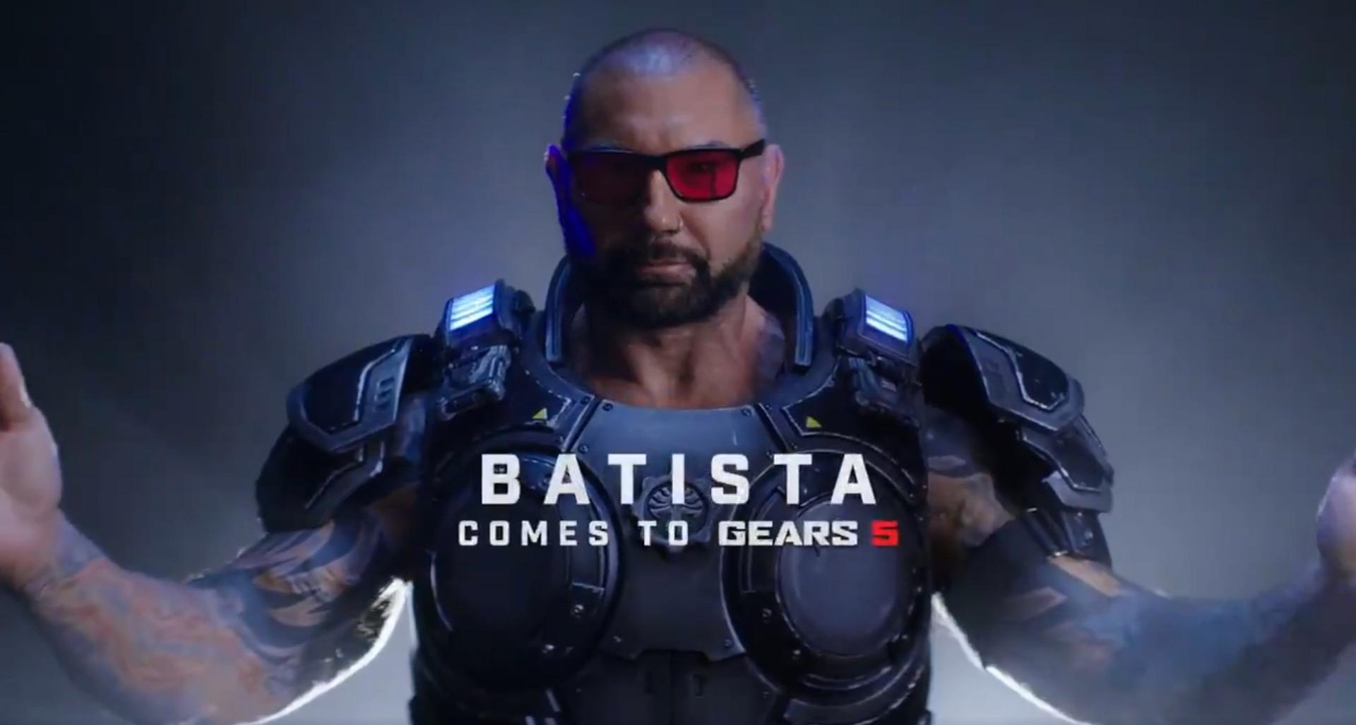 Photo of شخصية Batista تعود من جديد للعبة Gears 5 .