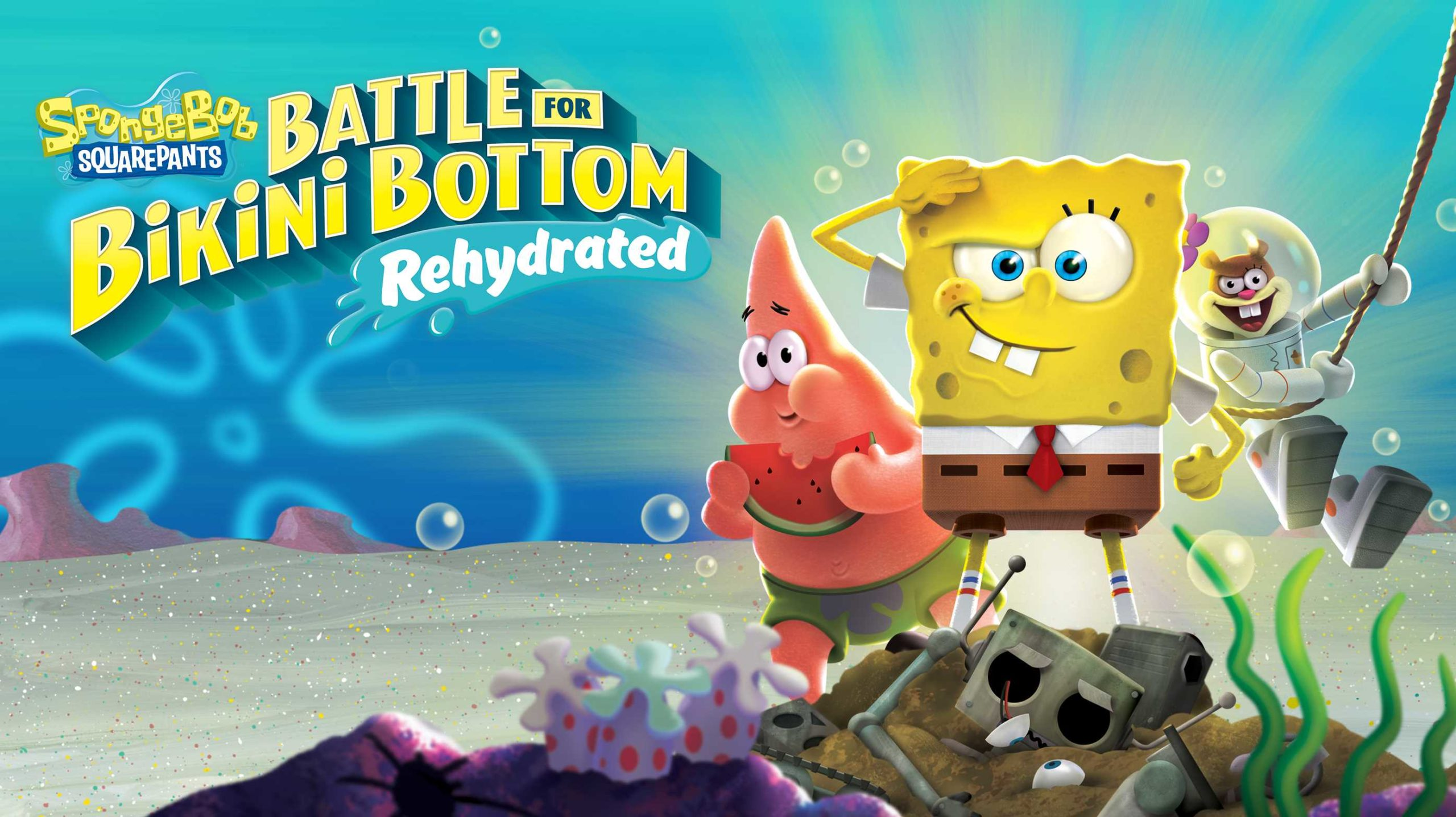 SpongeBob SquarePants Battle for Bikini Bottom Rehydrated