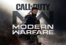 صورة لعبة Call of Duty: Modern Warfare تحتل صدارة المبيعات داخل بريطانيا من جديد .