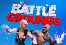 صورة الإعلان بشكل رسمي عن لعبة WWE 2K Battlegrounds .