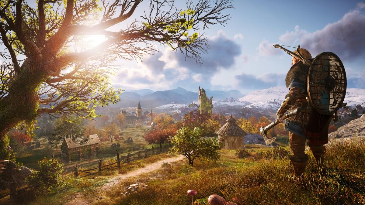 Photo of حجم خريطة Assassin's Creed Valhalla سيكون الأكبر في السلسلة وتوقعوا خريطة أكبر من Assassin's Creed Odyssey .
