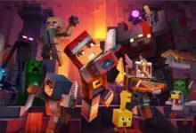 صورة لعبة Minecraft Dungeons ستحصل قريباً على تحديث لإضافة اللعب الجماعي المشترك .