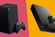 صورة بفضل خاصية Smart Delivery ستتمكن من حفظ الملفات بشكل مشترك بين أجهزة Xbox One و Xbox Sereis X .