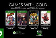 صورة الاعلان عن الالعاب المجانية لمشتركي Xbox Live Gold