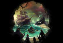 صورة تتوفر لعبة Sea of Thieves على متجر Steam خلال شهر يونيو .