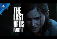 صورة عرض الإطلاق الرسمي للعبة The Last of Us Part II .